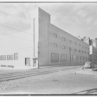 Schaefer Brewing Co., Kent Ave., Brooklyn, New York. Bottling plant, exterior from southeast