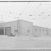 Schaefer Brewing Co., Kent Ave., Brooklyn, New York. North garage, exterior I