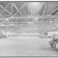 Schaefer Brewing Co., Kent Ave., Brooklyn, New York. North garage, main floor interior
