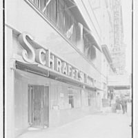 Schrafft's, Broadway and 43rd St., New York City. 43rd Street exterior