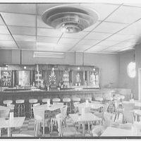 Seven Seas Restaurant, Miami, Florida. Cocktail room