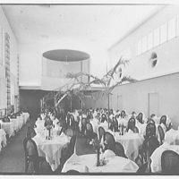 Seven Seas Restaurant, Miami, Florida. Main dining room
