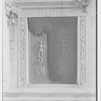 St. Bartholomew's Church, 50th St. and Park Ave., New York City. Chapel door
