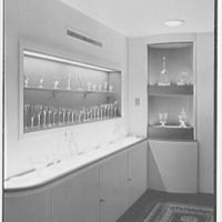 Steuben Glass, Inc., business at 718 5th Ave., New York City. Mezzanine room, vertical detail II