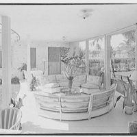 Theodore D. Buhl, residence on Island Rd., Palm Beach, Florida. Loggia I