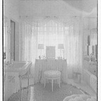 Theodore D. Buhl, residence on Island Rd., Palm Beach, Florida. Master bathroom I