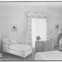 Theodore D. Buhl, residence on Island Rd., Palm Beach, Florida. Master bedroom from door I