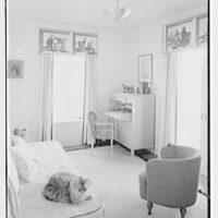 Theodore D. Buhl, residence on Island Rd., Palm Beach, Florida. Mr. Buhl's study