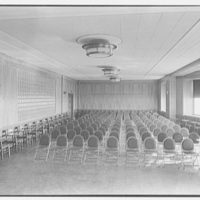 Triboro Hospital for Tuberculosis, Parsons Blvd., Jamaica, New York. Auditorium II