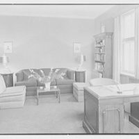 V.E. Baikow, residence at 130 E. 93rd St., New York City. Living room, to sofa group