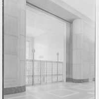 Virginia State Library & Courthouse, Richmond, Virginia. Gates to entrance lobby II