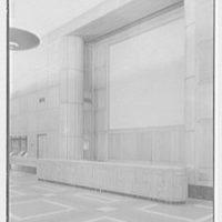 Virginia State Library & Courthouse, Richmond, Virginia. Reception desk