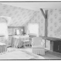 William F.R. Ballard, residence on E. Middle Patent Rd., Greenwich, Connecticut. Bedroom