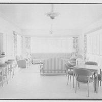 Albert Mills, residence at 5970 N. Bay Rd., Miami Beach, Florida. Bar room