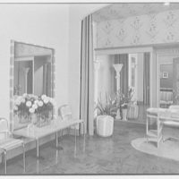 Ann Lano, 640 Madison Ave., New York City. Entrance foyer, to office door open
