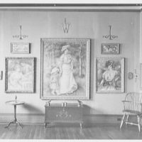 Barnes Foundation, Merion, Pennsylvania. Renoir and chest room 18