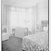 Bertrand L. Taylor, residence in Hobe Sound, Florida. Guest room, detail