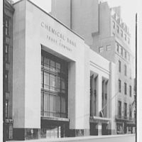 Chemical Bank & Trust Company, New York City. Exterior