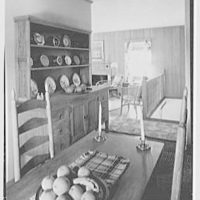 Donald D. Williams, residence in Vero Beach, Florida. Dining alcove