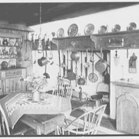 "Dr. A.S. Barnes, ""Ker-Feal"", residence in Chester Springs, Pennsylvania. Dining room, horizontal I"