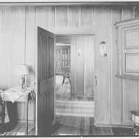"Dr. A.S. Barnes, ""Ker-Feal"", residence in Chester Springs, Pennsylvania. School master desk room II"