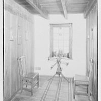 "Dr. A.S. Barnes, ""Ker-Feal"", residence in Chester Springs, Pennsylvania. Second floor hall"