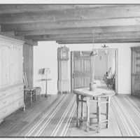"Dr. A.S. Barnes, ""Ker-Feal"", residence in Chester Springs, Pennsylvania. Second floor, gate leg table room I"