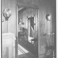 "Dr. A.S. Barnes, ""Ker-Feal"", residence in Chester Springs, Pennsylvania. Vista to staircase"