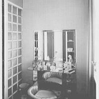 Edwin J. Beinecke, residence in Greenwich, Connecticut. Powder room