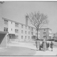 Farnham Court, New Haven, Connecticut. Cross view II