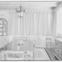 Frank J. Pagliaro, residence on Crow Hill Rd., Mount Kisco, New York. Breakfast room