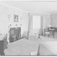 Frank J. Pagliaro, residence on Crow Hill Rd., Mount Kisco, New York. Master bedroom I