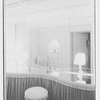 Frank J. Pagliaro, residence on Crow Hill Rd., Mount Kisco, New York. Powder room