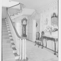 Frank J. Pagliaro, residence on Crow Hill Rd., Mount Kisco, New York. Staircase