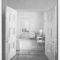 Goucher College, Mary Fisher Hall, Towson, Maryland. Small reception room