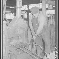 Great Falls, Montana. Anaconda Wire and Cable Company. Making an ...