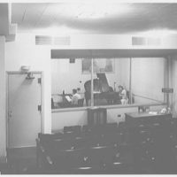 Indiana University Auditorium, Bloomington, Indiana. Broadcasting studio