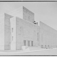 Indiana University Auditorium, Bloomington, Indiana. East and north facades