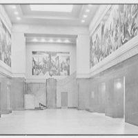 Indiana University Auditorium, Bloomington, Indiana. Hall of murals I