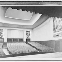 Indiana University Auditorium. Little theatre from stage