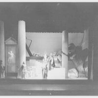 Juilliard School, 125 Claremont Ave., New York City. Iphigenia, third act with six students II