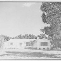 L.W. Bauer, residence in Vero Beach, Florida. Exterior