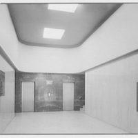 Methodist Book Concern, 150 5th Ave., New York City. Entrance lobby