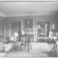 Mr. and Mrs. Joseph S. Graydon, Cobble Court, residence at Drake and Brill Rds., Cincinnati, Ohio. Morning room, to portrait II