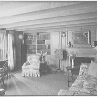 Mr. Leon Israel, residence in Gladstone, New Jersey. Library