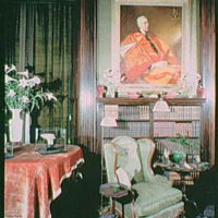 Mrs. Edward Harkness, residence at 1 E. 75th St., New York City. Interior IX