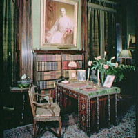 Mrs. Edward Harkness, residence at 1 E. 75th St., New York City. Interior VIII