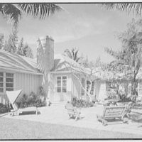 Mrs. Worthington Scranton, residence in Hobe Sound, Florida. Beach facade I