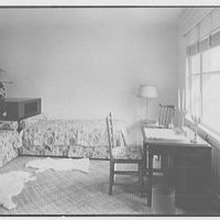 Mrs. Worthington Scranton, residence in Hobe Sound, Florida. Guest room