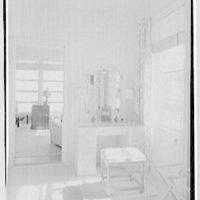 Mrs. Worthington Scranton, residence in Hobe Sound, Florida. Mrs. Scranton's dressing room